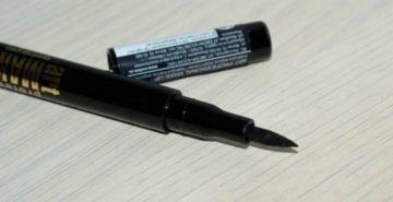 черный маркер