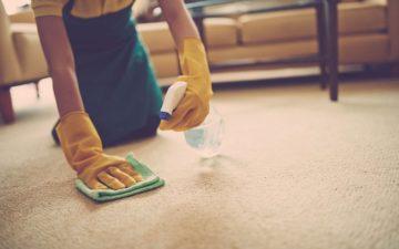 чистка ковра