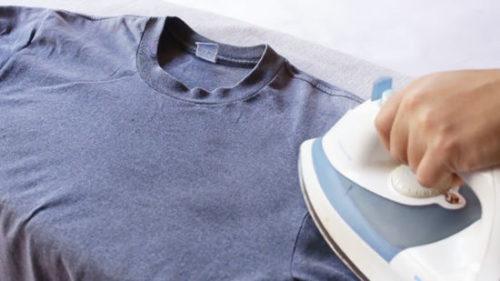 глажка футболки