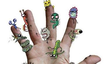 микробы на ногтях
