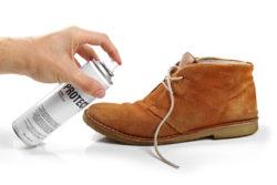 обработка обуви защитным средством