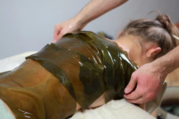 водоросли на теле