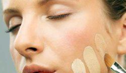 оттенки тонального крема на коже