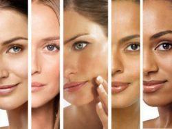 оттенки кожи на лице